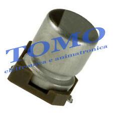 Condensatore elettrolitico SMD 0,1uF 50V 105° 5 pezzi CSMD-0.1UF-50