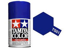 Tamiya 85051. Spray TS-51. Pintura esmalte color Azul Telefonica