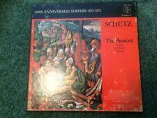 Schutz 300th Anniversary edition 1672-1972: Passions VOX SVBX 5102 3 LP set