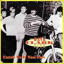 "THE DAVE CLARK FIVE Catch Us If You Can PICTURE SLEEVE 7"" 45 rpm record NEW"