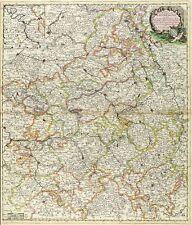 FRANKREICH - CHAMPAGNE - CHAMPAGNE-ARDENNEN - Robert de Vaugondy - Karte 1696