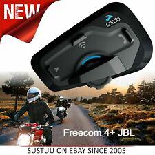 Cardo Scala Rider Freecom 4+ JBL Bluetooth Headset|Motorcycle Helmet Intercom