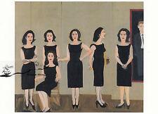 Kunstkarte: Alex Katz - The black dress
