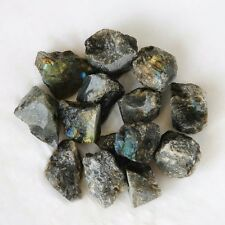 wholesale 5LBs rough natural Labradorite w/flash crystal gemstone 1inch 100pcs+