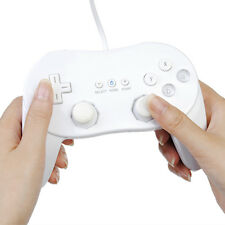 Classic Controller Pro For Nintendo Wii Remote white GamePad Game Pad Wired game