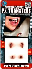 Tinsley Transfers Vampire Bites Prosthetic Special Effects Makeup Horror 3D FX