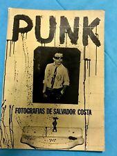 Salvador Costa Punk Black and White Photographs By Fotografias 1st edition 1977