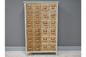 Vintage Industrial Sideboard Multi Drawers Retro style Storage Chest