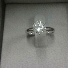 DIAMOND ENGAGEMENT RING 1.20 CT ROUND G VS1 14k WHITE GOLD CHRISTMAS WEDDING NIB