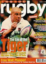INSIDE RUGBY MAGAZINE Dec 1998