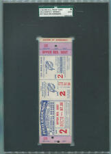1954 World Series Game 2 Proof Full Ticket. NY Giants Cleveland Indians. SGC