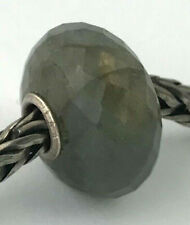 Authentic Trollbeads Faceted Labradorite (A) Bead Charm 51804, New