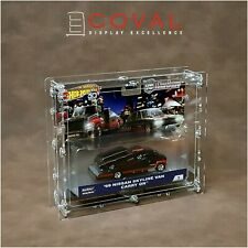 Coval Displays HXW-101 Acrylic Case for Single Carded Team Transport Hot Wheels