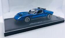 Kyosho 1/43 Lamborghini JOTA SVR Chrome Blue 03201CB