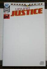 DC Young Justice (2018) #1 BLANK Sketch Cover Variant - 1st Teen Lantern