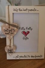 Personalised Photo Frame by Filly Folly Baby 1st Scan Grandparents Gift 6x4''
