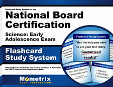Flashcards for the National Board Certification Science: Early Adolescence Exam