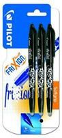 Pilot Frixion Erasable Rollerball Pen 0.7 mm Tip - Packs of 1/2/3/5
