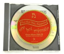 Red Hot Chili Peppers One Hot Minute Rare Clean Promotional CD 1995 Warner Bros