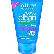 Alba Botanica Good and Clean Pore Purifying Mini Peel 4 Ounce 1 Each.
