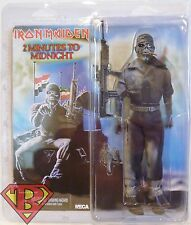 "EDDIE Iron Maiden 2 Minutes to Midnight 8"" inch Clothed Music Figure Neca 2015"