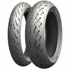 Michelin Road 5 120/70 ZR17 (58W) & 190/50 ZR17 (73W) Pair Motorcycle Tyres