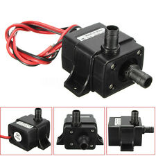 DC 12V 240L/H Brushless Motor Submersible Pool Water Pump Solar Ultra Quiet US