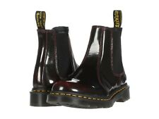 Para Mujeres Zapatos Botas Dr. Martens 2976 Cuero Chelsea 25684600 Rojo Cereza Arcadia