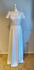 Brautkleid, weiß, Größe 40, kurzer Arm, ganz schlicht, A-Linie, RM-Fashion