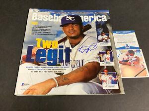 Wander Franco Tampa Bay Rays Auto Signed Baseball America