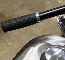 "ALUMINUM 1""HANDLEBAR GRIP TRIM RING 1-EA TRIUMPH HARLEY BSA XS650 BOBBER CHOPPER"