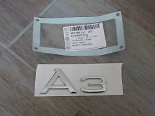 Original Audi A3 8P Emblem Schriftzug Heckklappe Heck Zeichen Sportback neu