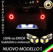 COPPIA LUCI TARGA 5 LED SPECIFICHE PER ALFA MITO T10 W5W CANBUS 100%  NO ERRORE