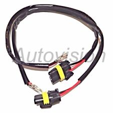 2X HID Xenon Light Power Wire Harness Plug Cord H11 Ballast to Car Cable