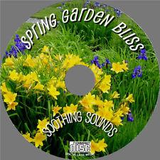 Relájese a los sonidos naturales de una cálida Spring Garden En Cd-Pure Sonidos De Naturaleza