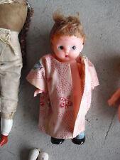 Vintage Jointed Hard Plastic Boy Doll Knickerbocker