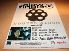 CLAWFINGER FRENCH TOUR!!!!!!!!!!!!!!FRENCH PRESS ADVERT