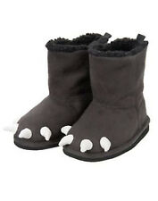 GYMBOREE~SNOWBOARD LEGEND GRAY BEAR CLAW BOOTS~03~NWT