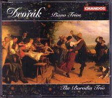 DVORAK Piano Trio No.1 2 3 4 Dumky BORODIN TRIO Chandos 2CD Klaviertrio Turovsky