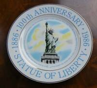 1986 Statue of Liberty 100th Anniversary Collector Plate