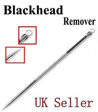 Blackhead Remover Tool Acne Pimple Spot Extractor Pin  - free holder make-up