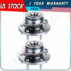 Front Wheel Bearings & Hub For Hummer H3 2006 2007 2008 2009-2010 W/ABS - Pair