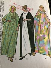 """McCall's Vintage Sewing Pattern # 3617 Misses Caftan Size Lrg Bust 38-40"""" 16-18"""