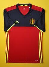 5+/5 Belgium jersey SMALL 2016 2017 home shirt AA8744 soccer football Adidas