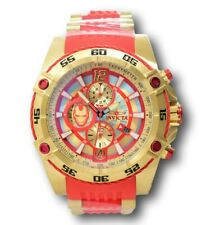 Invicta Marvel Men's 52mm Ironman Limited Edition Gold Chronograph Watch 26796