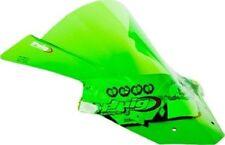 Bulles et pare-brises vert pour motocyclette Kawasaki