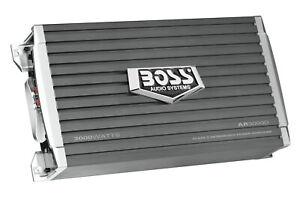 BOSS Audio Systems AR3000D Class D Car Amplifier – 3000 Watts, 1 Ohm Stable, Dig