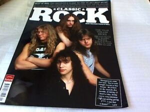 1 Classic Rock Magazine Jan 2012 Issue 166-Thrash Metal Cover- Best Of 2011 Etc.