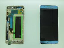 SAMSUNG GALAXY NOTE 7 FE N930F LCD TOUCH SCREEN DISPLAY ORIGINAL GENUINE BLUE