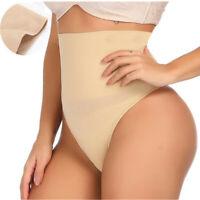 Women High Waist Butt Lifter Tummy Control Panty Thong  Underwear Body Shaper